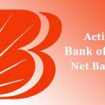 How to Activate Bank of Baroda Net Banking Online?