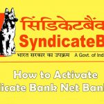 How to Register / Activate Syndicate Bank Net Banking?